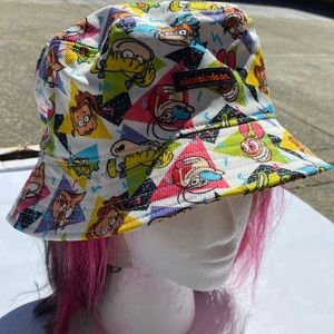 90s Nickelodeon Bucket Hat (NEW WITH TAG)